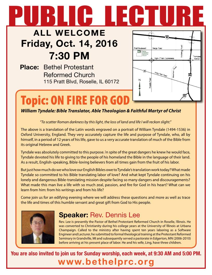 On Fire FOr God FLYER Bethel 2016 Page 1