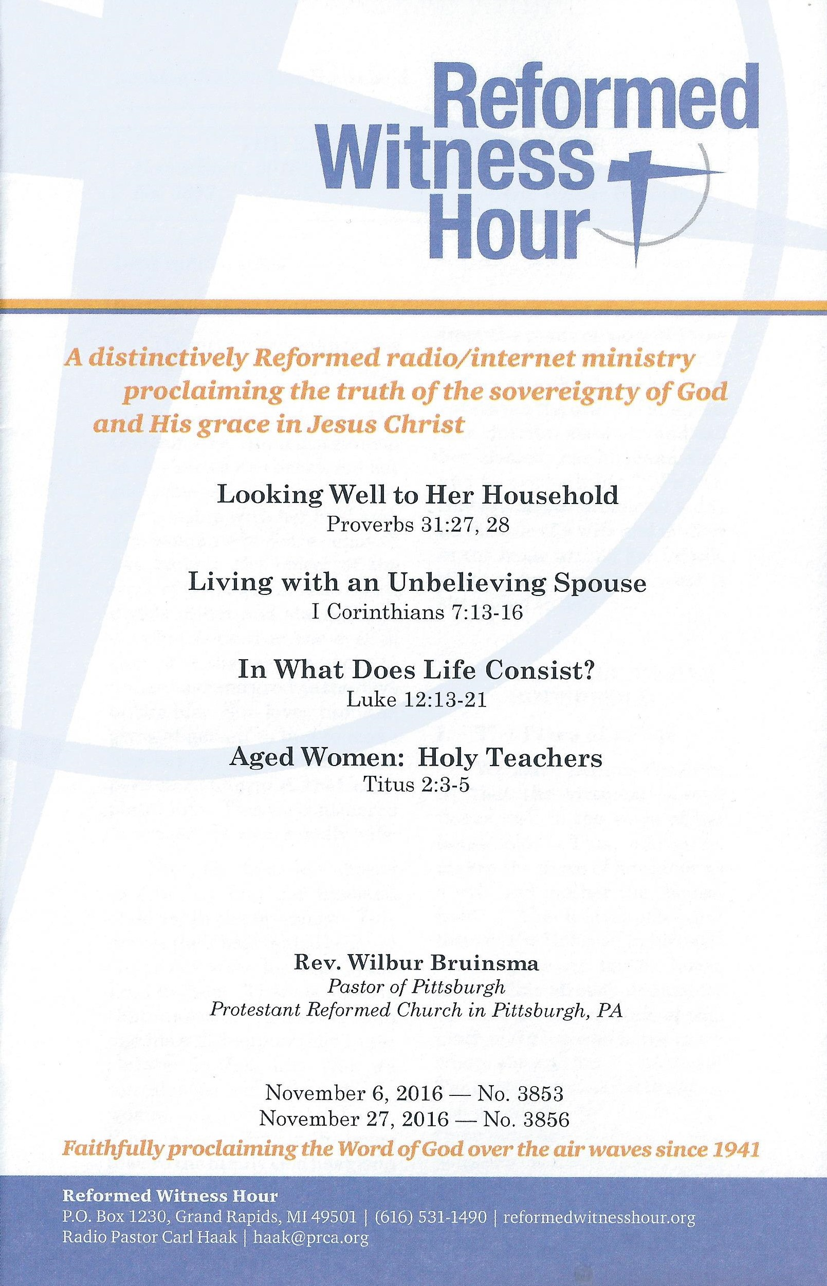 RWH Nov 2016 booklet