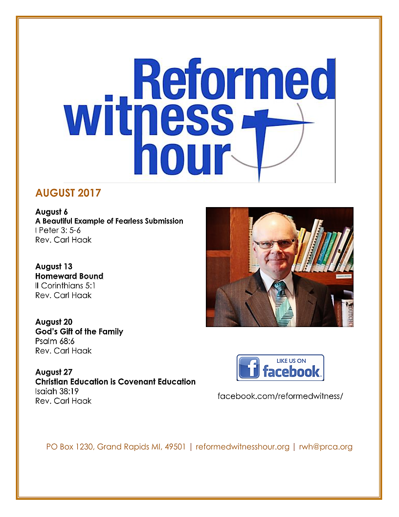 RWH Flyer August 2017 Page 1