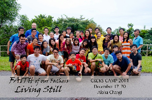 CKs Youth Camp Dec 2014