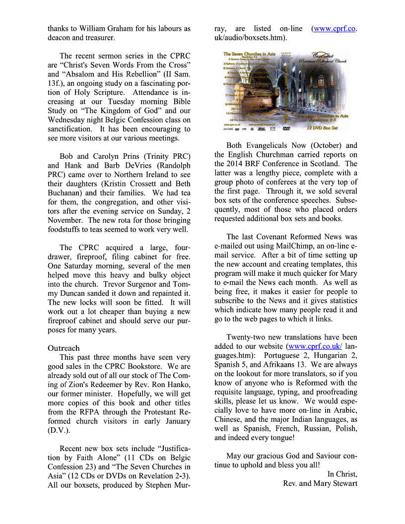 CPRC-NI Newsletter-Nov 2014 Page 2
