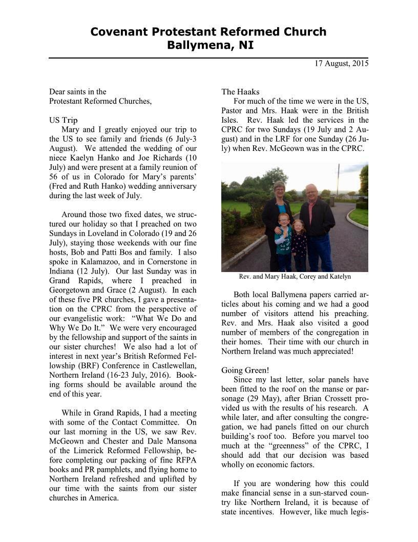 CPRCNI Newsletter Aug2015 Page 1