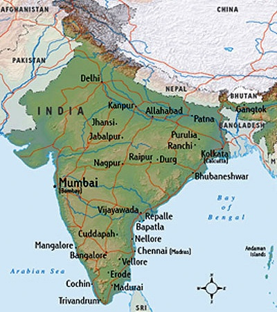 Map India 1
