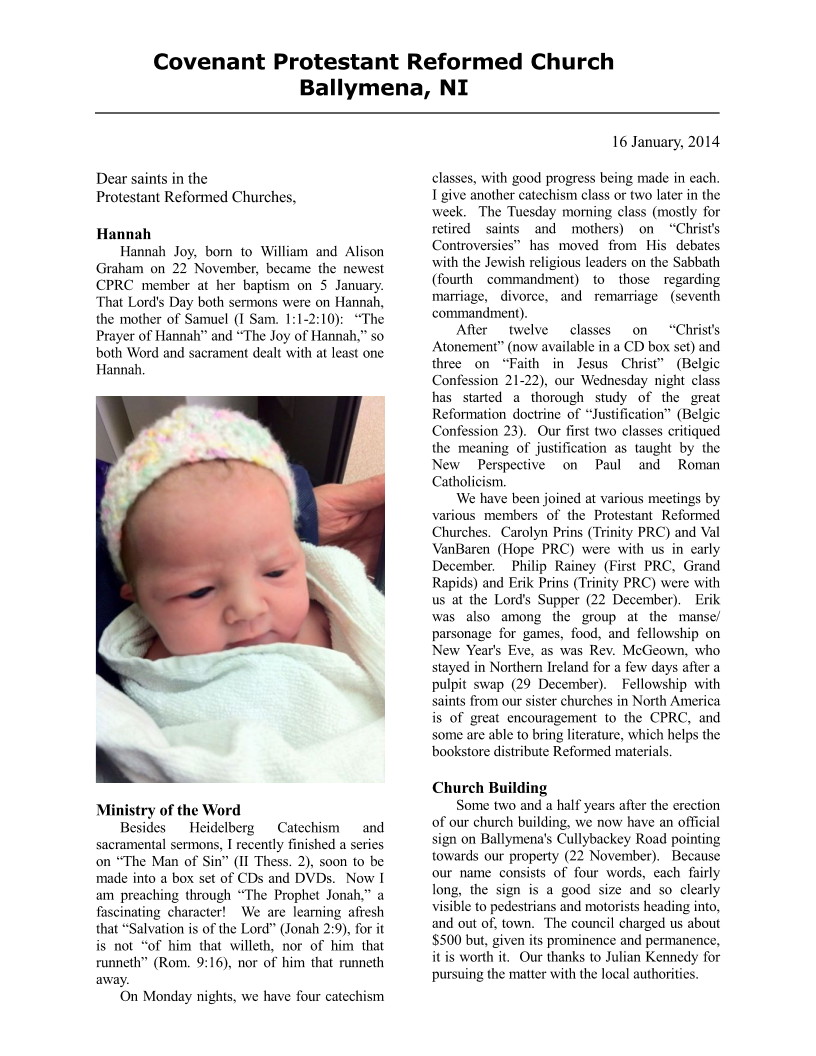 CPRCNI-Newsletter-Jan2014 Page 1