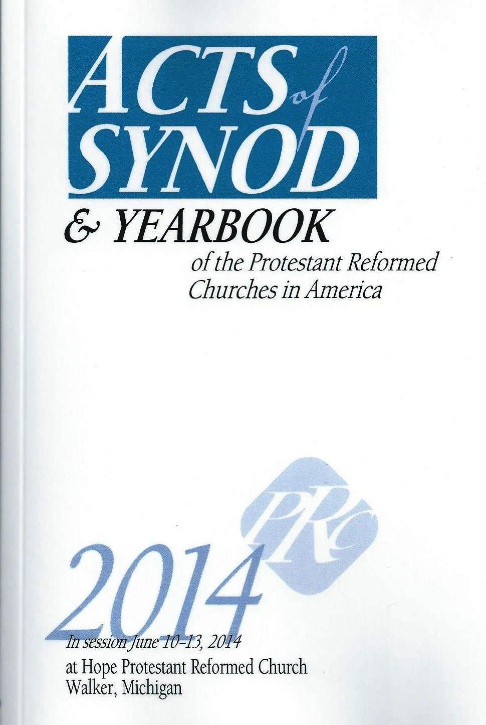Acts of Synod 2014-cover