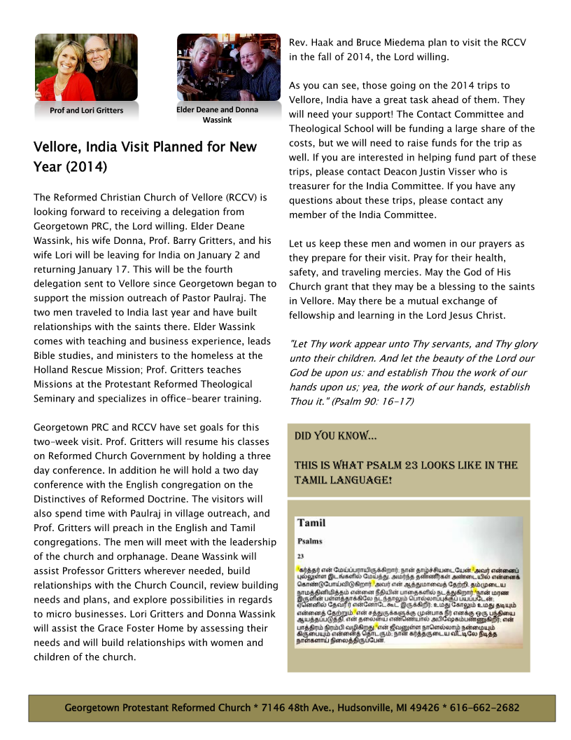 India Outreach Newsletter Dec2013 Page 2
