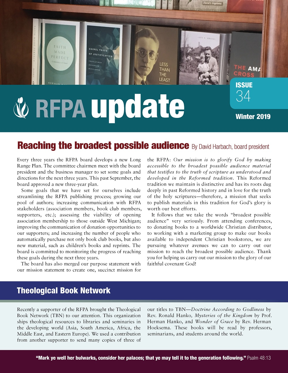 rfpa newsletter winter 2019