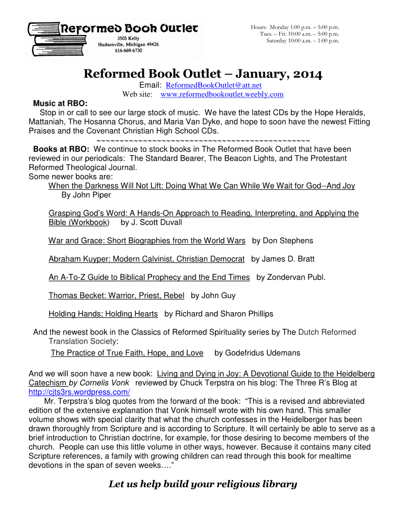 RBO Newsletter-Jan2014 Page 1