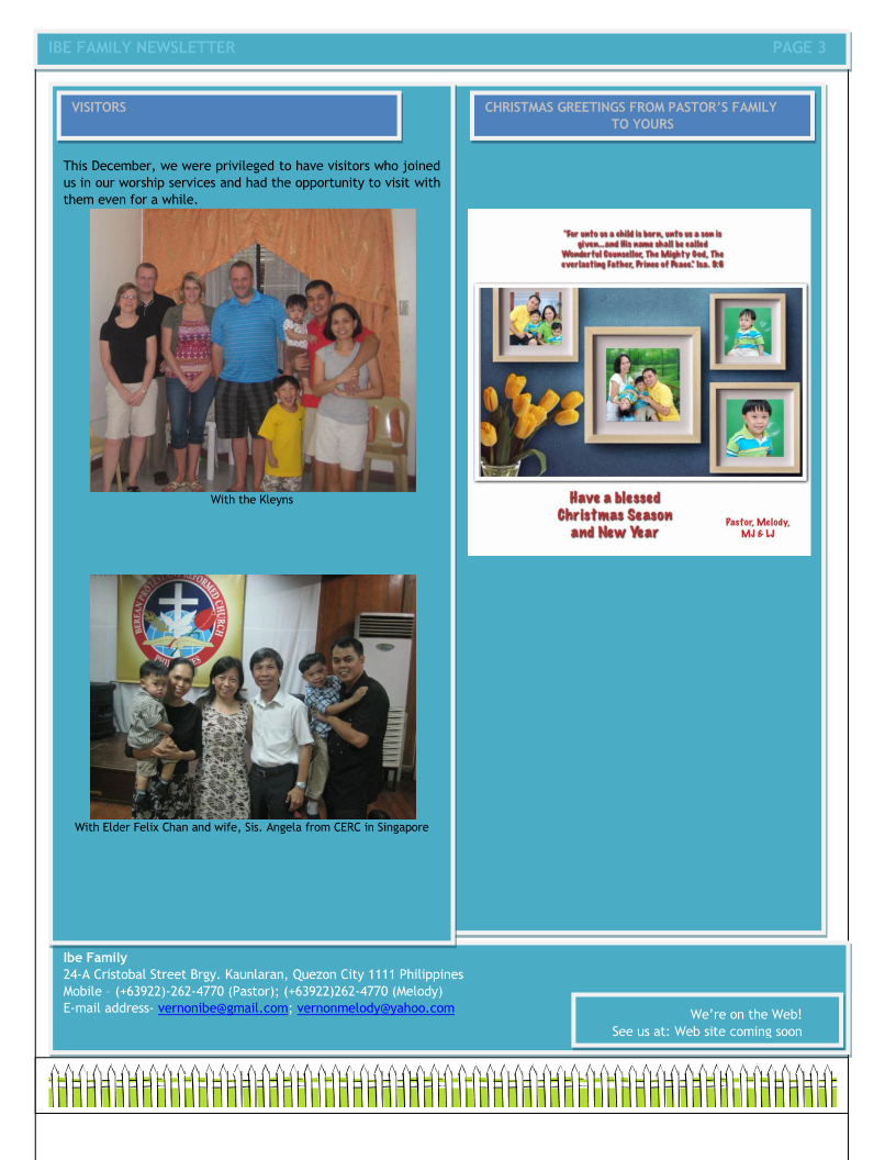 Ibe Family Newsletter-Sept-Dec 2013 Page 3