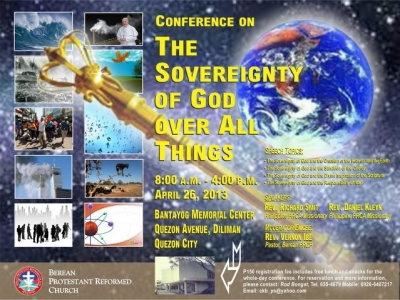 Annual Berean PRC Conference - April 2013