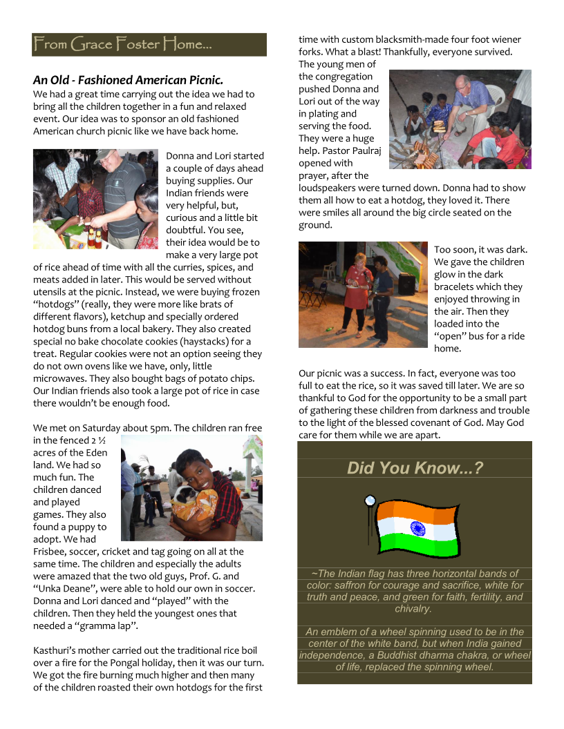 India Outreach Newsletter-Feb2014 Page 2